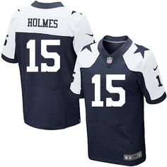 d6def18a2a8 NFL Dallas Cowboys  15 Andre Holmes Elite Blue Thanksgiving Men Jersey Dallas  Cowboys Jersey