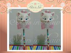 Ponteira de lápis da gatinha Marie