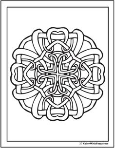 This Is One Of My Many Celtic Knots Which I Have Formatted