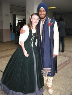 Renaissance Faire Irish dress, Celtic overdress, wedding gown, Scottish Gowns Dresses