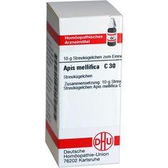 APIS MELLIFICA C 30 Globuli:   Packungsinhalt: 10 g Globuli PZN: 02890618 Hersteller: DHU-Arzneimittel GmbH & Co. KG Preis: 5,19 EUR…