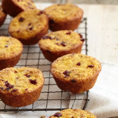 These fruity muffins are packed with kid-friendly fruits and fruit juice and make a yummy, healthy breakfast or snack. - parenting.com