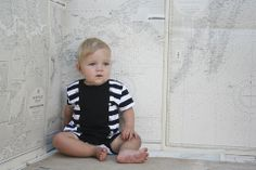 YmamaY Rafeallo Romper Blk/Wht Stripe 3-6M Winged Girl, Kids Clothing Brands, Kids Store, Baby Gifts, Kids Outfits, Rompers, Boutique, Ballerinas, Pharmacy