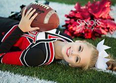 Cheerleading Senior Pictures. Cheerleading Senior Picture Ideas. #cheerleadingseniorpictures #cheerleadingseniorpictureideas #seniorsbyphotojeania