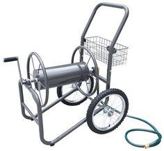 Liberty Garden Products 880-2 Industrial 2 Wheel Pneumatic Tires Garden Hose Reel