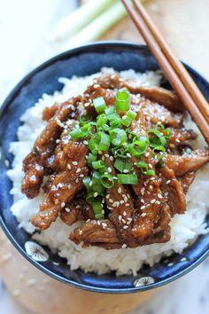 PF Chang's Mongolian Beef Copycat Recipe - Damn Delicious