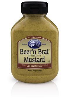#BeernBratMustard #SilverSpringFoods New label.