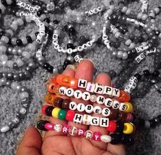 Hippy, Trippy, and just Plain Good Vibes. Follow us and shop at KandiCrave via eBay!
