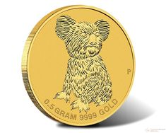 0.5 g 2015 Mini Koala Gold Coin