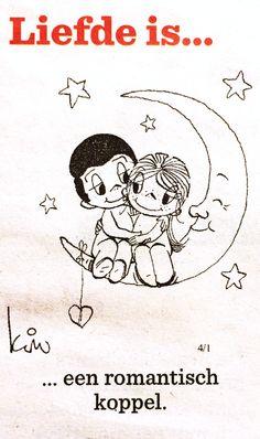 Liefde is... Een romantisch koppel