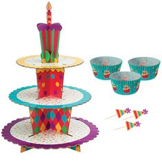 Cupcake : Celebration Cupcake Stand Kit