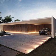 New landscape architecture garden modern ideas Residential Architecture, Landscape Architecture, Interior Architecture, Arch House, Facade House, Minimalist Architecture, Contemporary Architecture, Contemporary Design, Minimal Home
