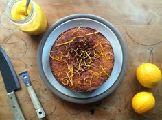 Sweet Sweet, Food To Make, Lemon, Baking, Cake, Bakken, Kuchen, Backen, Torte