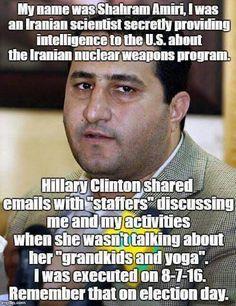 Never Hillary. Please Never Hillary