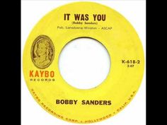 BOBBY SANDERS & GROUP -IT WAS YOU.wmv