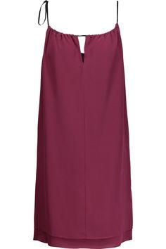 RAG & BONE Samantha layered silk crepe de chine mini dress. #ragbone #cloth #dress