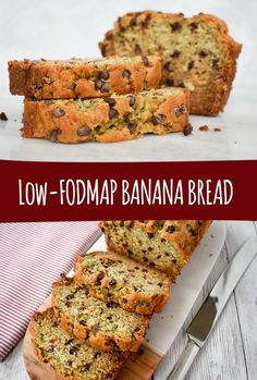 No need to look further- this is the best low-FODMAP banana bread/banana muffin recipe ever! Low-FODMAP banana bread is an absolute staple in our house. We like to enjoy this low-FODMAP moist and delicious treat almost every weekend. #fodmap #fodmapdiet #fodmaprecipes #lowfodmap #muffins #banana