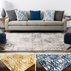 Embodying stylish and trendy design with timeless construction, this rug itself as your favorite rug. Hand Tufted in 100% wool, the kaleidoscopic pattern intricately sewn in this rug allow it to radiate a sense of flawless style in any home decor space.