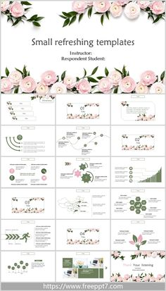 Free Keynote Template, Ppt Free, Presentation Design, Presentation Templates, Powerpoint Background Free, Beautiful Pink Roses, Ppt Design, Book Layouts, Power Points