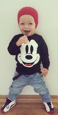 ✦Too cute!!  Can't wait till he actually fills out some clothes...