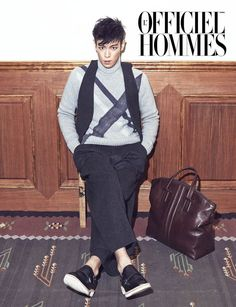 TOP - L'Officiel Hommes Magazine November Issue '13