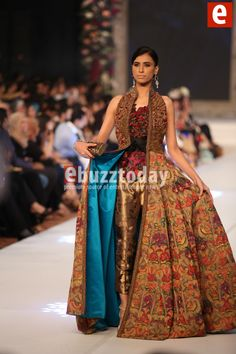 Sana Safinaz at PFDC Loreal Paris Bridal Week 2015