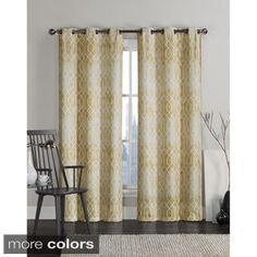 Shop for VCNY Andreas Grommet Top 96-inch Curtain Panel Pair. Free Shipping on orders over $45 at Overstock.com - Your Online Home Decor Outlet Store! Get 5% in rewards with Club O!
