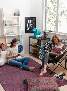 Make just another dorm room feel just like home with a key essentials including…