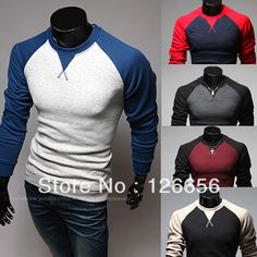 Aliexpress.com : Buy Autumn and winter hot selling raglan sleeve casual plus size men's clothing hot selling male o neck long sleeve T shirt from Reliable moisturizer ad suppliers on coraldaisy. $10.99
