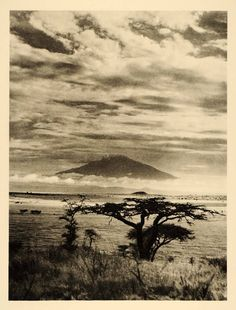 Mount Meru, East Africa 1935