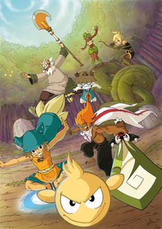 All the characters from WAKFU the series!