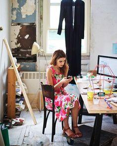 Ana Kras at work by @paulbarbera