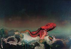Roger Dean - Octopus / The weird worlds of Roger Dean, prog rock's artist in residence   Music   The Guardian