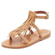 The Ten Best Sandals On Sale // #1 K. Jacques Corsaire Fringe Sandals