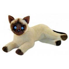 """Siamese Cat soft plush stuffed toy Blossum 12""""/30cm by Bocchetta - NEW #BocchettaPlushToys"""