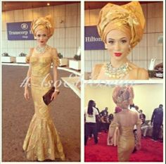 White and Gold Wedding. Gold Bridesmaid Dress. Soft and Romantic. Gold Aso Ebi. Sexy Gold Bridesmaid Look.