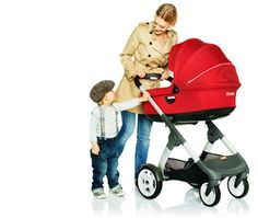 News Flash – announcing the Stokke Scoot and Crusi strollers… one is a double pram!
