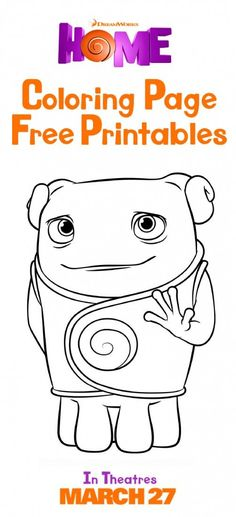 oh movie coloring pages - photo#24