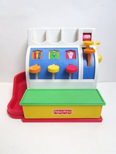 Fisher Price Cash Register With Coins 2044 by TimelessToyBox
