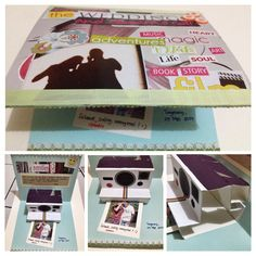 #wedding card theme: polaroid  *get inspired from Pinterest