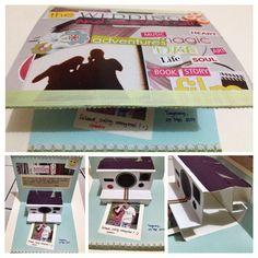 #wedding card theme: polaroid  *get inspired from Pinterest
