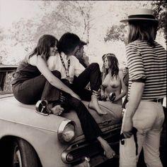 U.S. Happening, Rancho Olompali, Marin County, California, 1966 // by Herb Greene