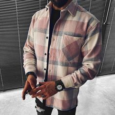 Casual Outfits, Men Casual, Casual Shirts, Fall Outfits, Outfits Hombre, White T, Jackets Online, Jacket Style, Sleeve Styles