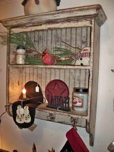 New Brunswick shelf with pegs. $169.00, via Etsy.