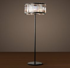 Welles Crystal Floor Lamp from Restoration Hardware