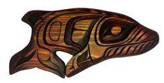 Humpback Whale by Jackson Robertson North Coast, Pacific Coast, Pacific Northwest, West Coast, Native Art, Native American Art, Inuit Art, Tlingit, Native Design