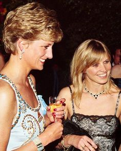"""589 Likes, 1 Comments - Princess Diana Forever (@princess.diana.forever) on Instagram: """"12 October 1994: Princess Diana, pictured with Tatler's former social editor, Clare Husted…"""""""