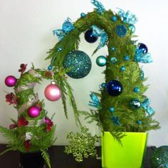 Dr. Seuss Christmas Trees