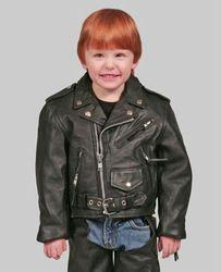 Baby Leather Motorbike style jacket
