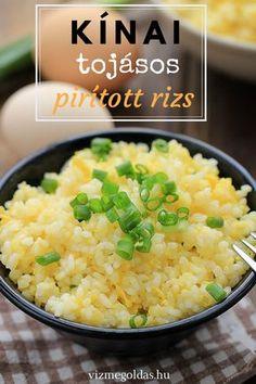 Fogyúkúrás receptek - Kínai tojásos pirított rizs – a tökéletes pirított rizs titka